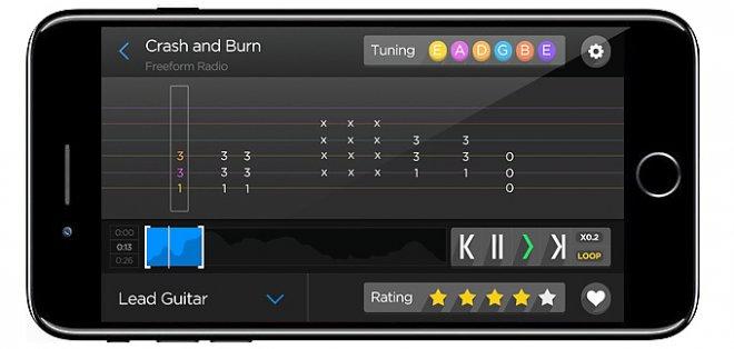 iOS приложение Fret Zeppelin