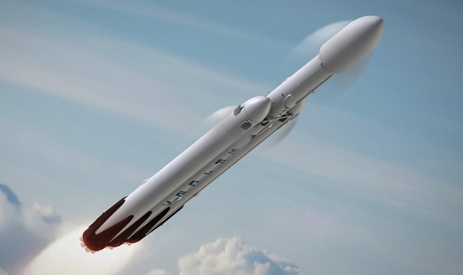 Ракета-носитель Falcon Heavy