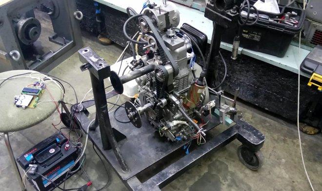 Авиационный двигатель ДДА-120