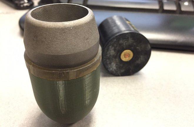 Напечатанный снаряд