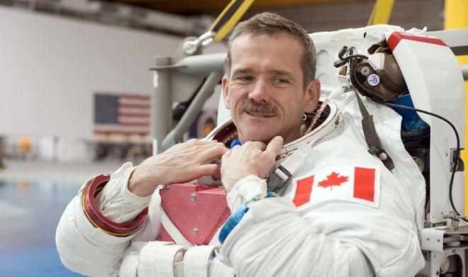 Канадский космонавт