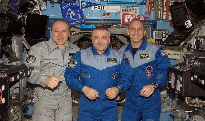 российские космонавты. фото