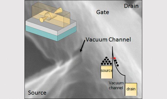 Вакуумный транзистор