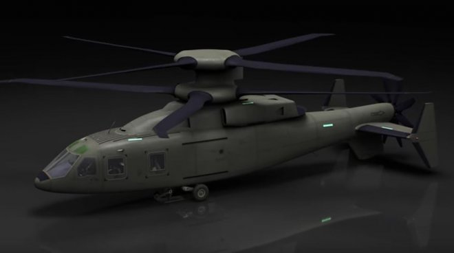 Concept of the helicopter of the future FVL-M