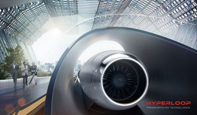 Hyperloop Корея