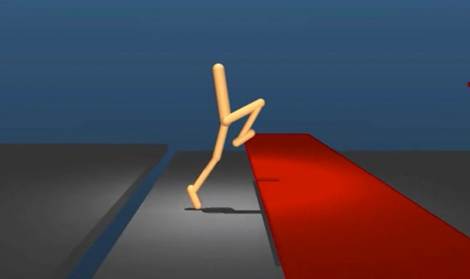 Virtual running with obstacles