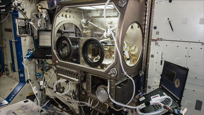 3D printer for the ISS