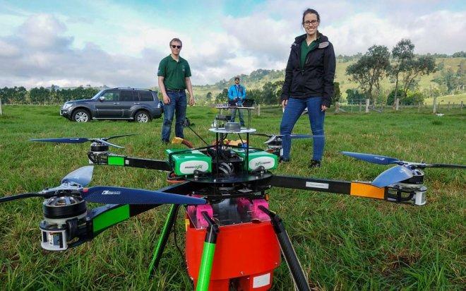 Drones for gardeners