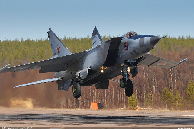 The record-high Soviet MiG-25 fighter