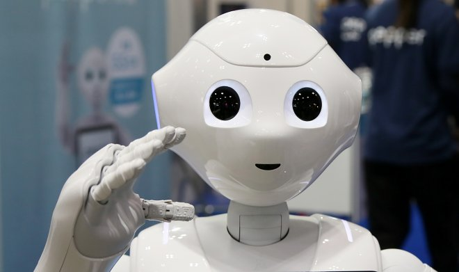 The language of robots