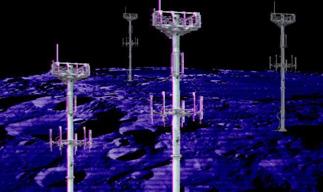 Интернет на Луне