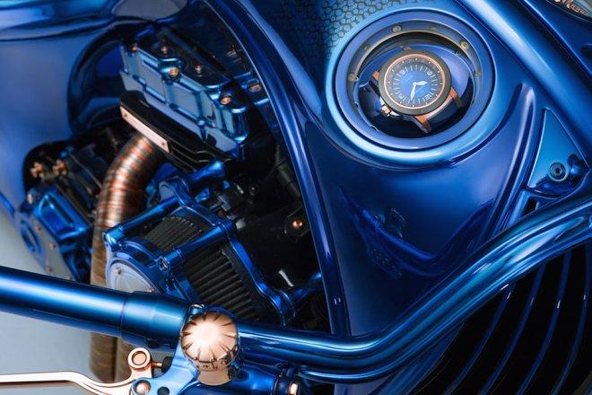 Harley-Davidson Blue Edition - самый дорогой мотоцикл в мире