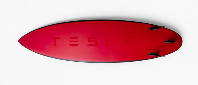 Tesla Surfing Board