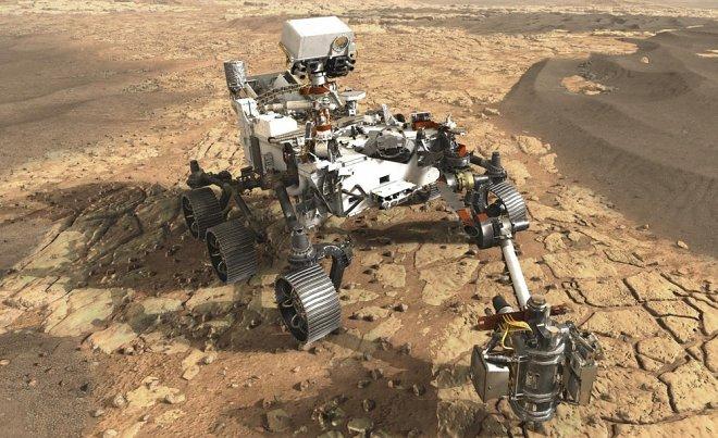 Концепта ровера Марс-2020