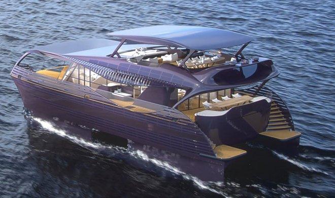 SolarImpact - яхта для автономного путешествия по всему миру