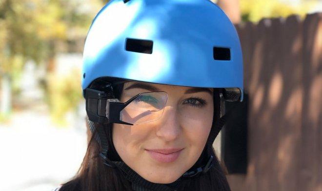 Устройство Hudway Sight наделит обычный шлем виртуальным дисплеем