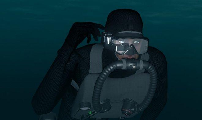 ВМФ США разработал проекционный дисплей для боевых пловцов