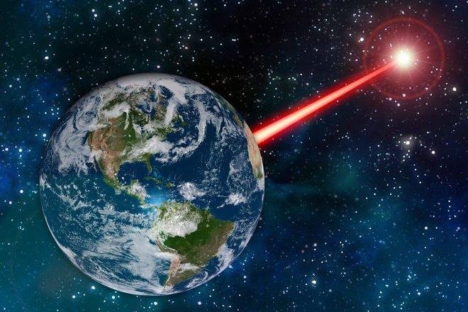 MIT предлагает создать космический лазерный маяк для привлечения инопланетян