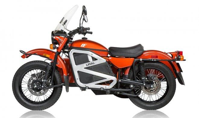 «Урал» представил свой первый электрический мотоцикл