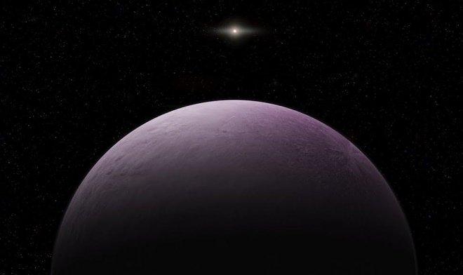 В Солнечной системе найдена самая далекая карликовая планета
