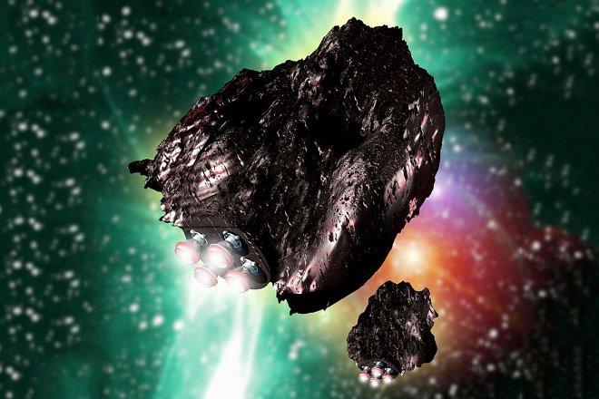 Ученые хотят построить научную станцию внутри крупного астероида