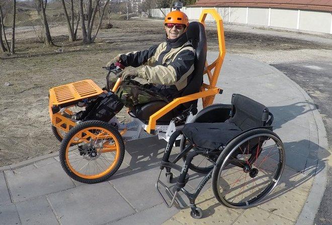 Коляска EV4 Mountain Cart