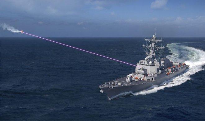 ВМС США планируют установить на эсминец первый боевой лазер HELIOS к 2021 году