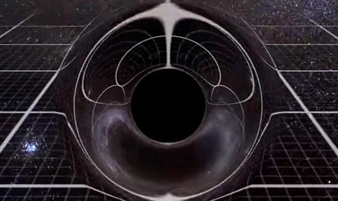 Насколько велика черная дыра M87 — наглядно