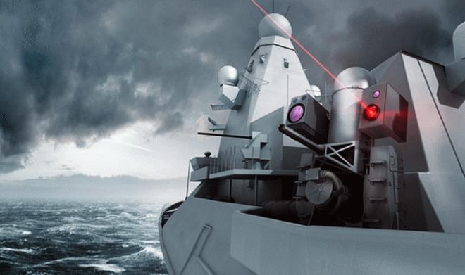 Британия использовала технологии Formula 1 для создания боевого лазера «Dragonfire»