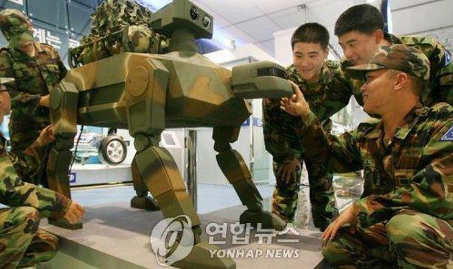 Южная Корея занялась разработкой военных роботов, имитирующих животных