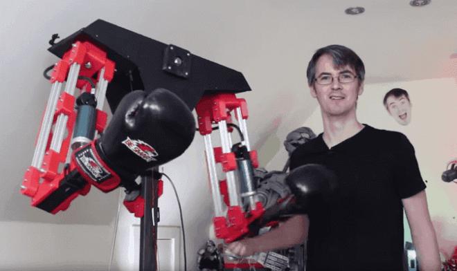 Робот для спарринга