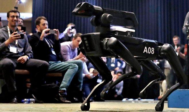 Boston Dynamics предложила превратить Spot Mini в роботов-гладиаторов