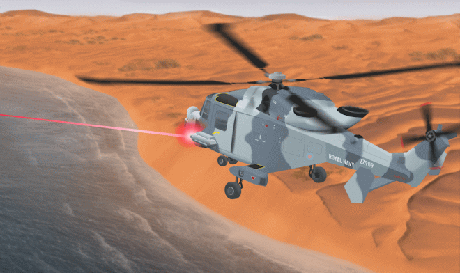 Великобритания пополняет арсеналы лазерного и радиочастотного энергетического оружия