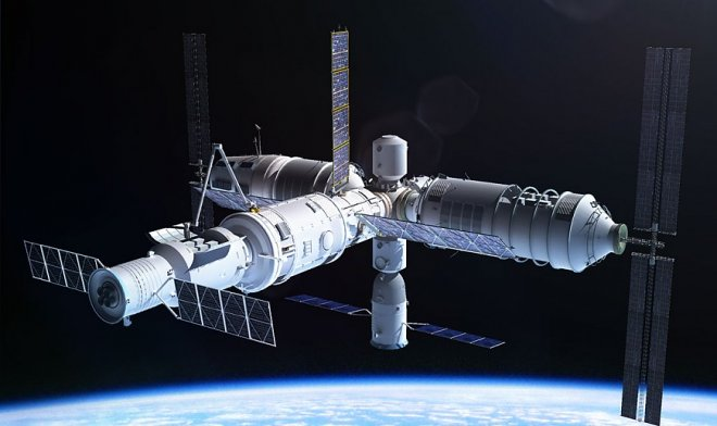 Посмотрите видео, как китайская космическая станция Тянгун-2 сгорела в атмосфере