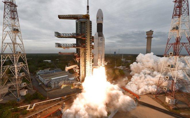 Запуск Чандраян 2