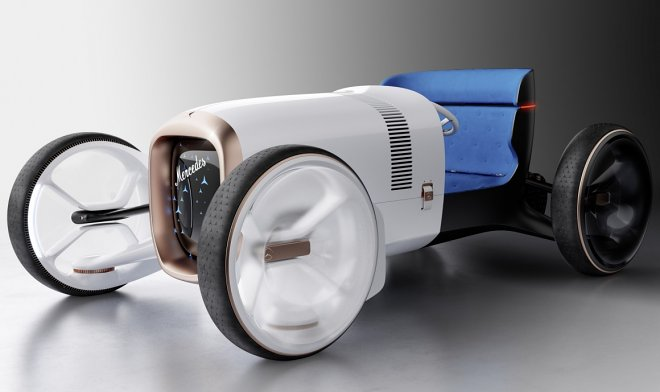 Концепт Vision Simplex от Mercedes-Benz отдает дань уважения первому автомобилю этой компании