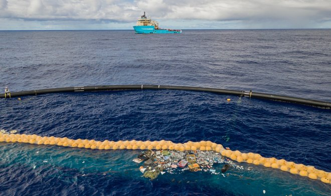 Проект The Ocean Cleanup