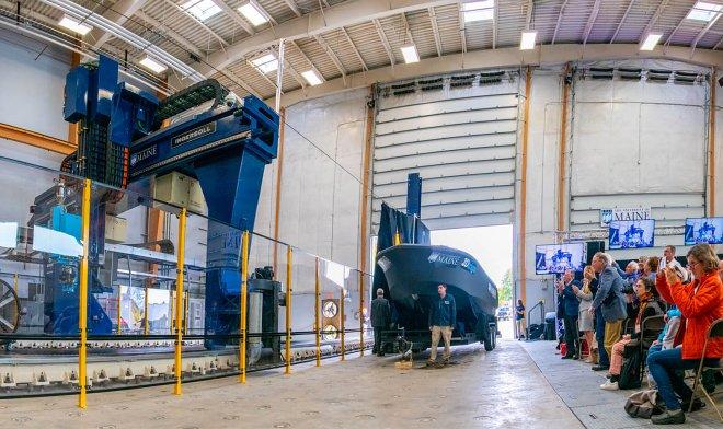 В Университете штата Мэн изготовили самую большую в мире лодку методом 3D-печати