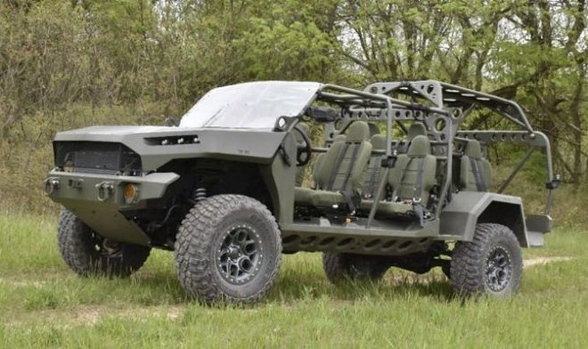 Армия США получит новые десантные автомобили