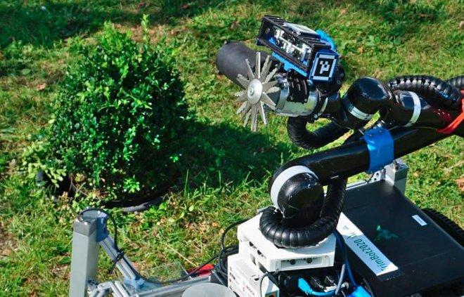 Робот-садовник Trimbot