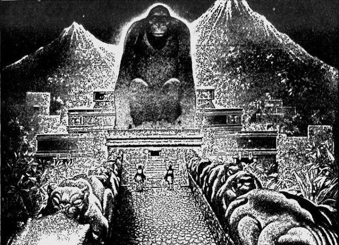 Храм Бога-Обезьяны