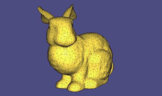Кролик Stanford Bunny