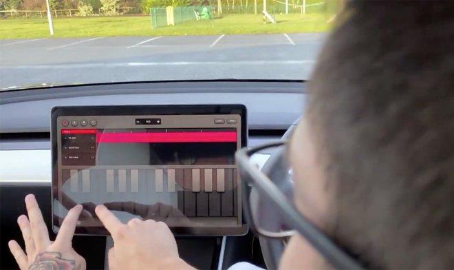 В электромобилях Tesla появилось приложение для создания музыки