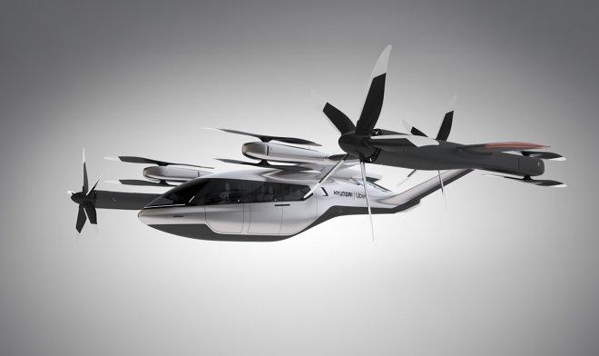 Летающее такси Hyundai