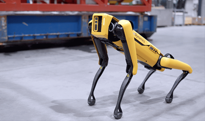 Spot robot Norveç sondaj platformunda çalışmaya başladı