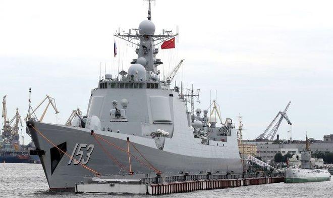 Патрульный самолет ВМС США попал под «лазерный огонь» с китайского эсминца