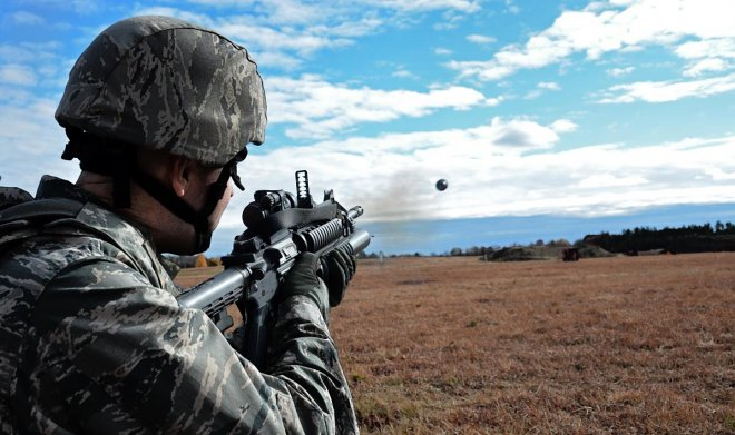 Армия США запатентовала дрон, который можно запустить из подствольного гранатомета