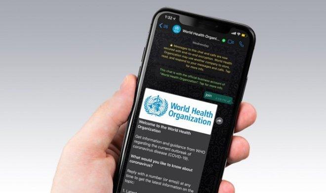 ВОЗ запустила в WhatsApp официальный канал с информацией о коронавирусе