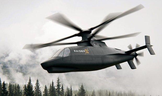 Армия США выбрала двух кандидатов на звание вертолета будущего