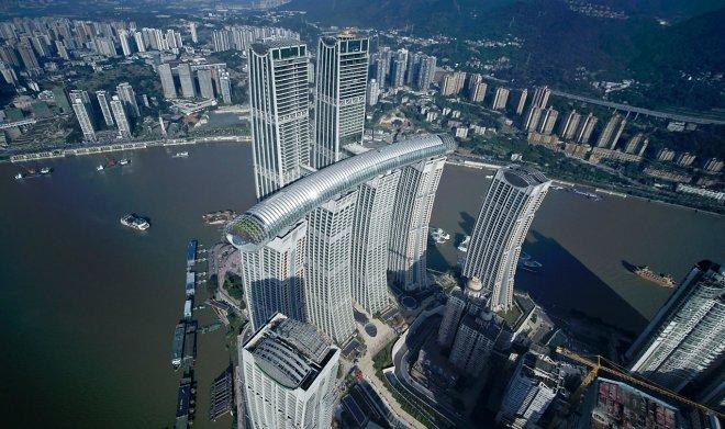 Проект Raffles City Chongqing